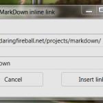 Insert MarkDown